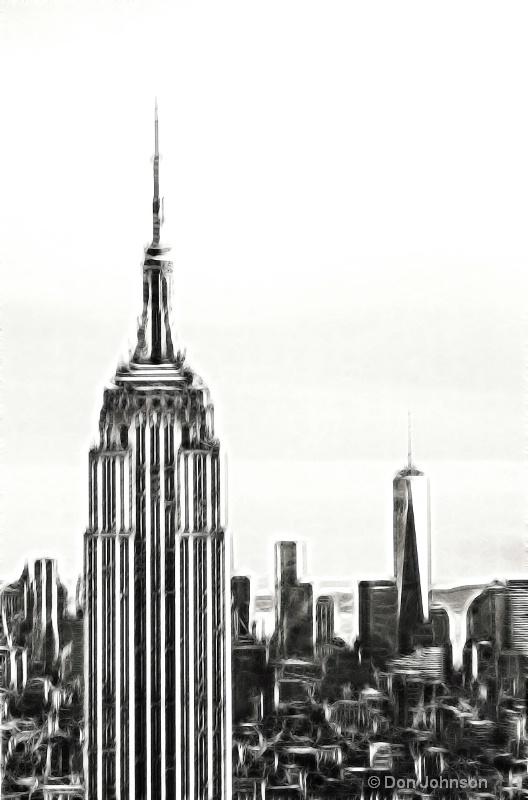 NYC's New Skyline-Fractalius