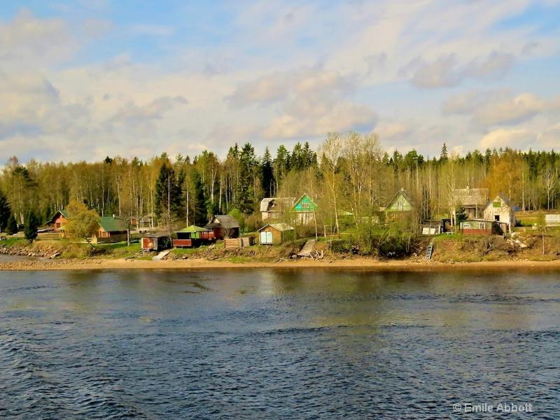 Homes on the Svir River