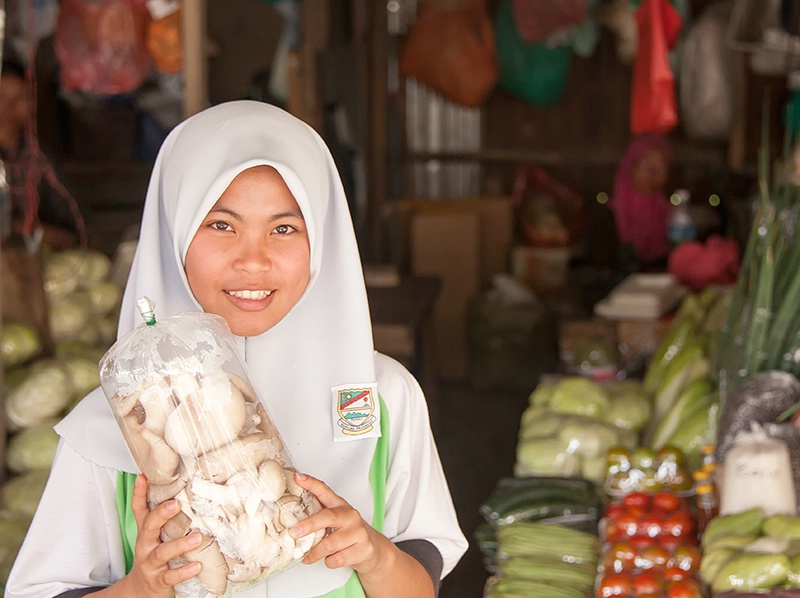 Market Smile - Mt Kinabalu