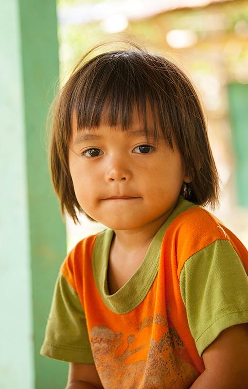 Coy Penan Child - Mulu National Park