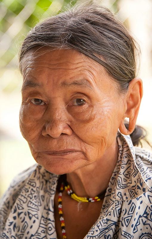 Penan Elder - Mulu National Park