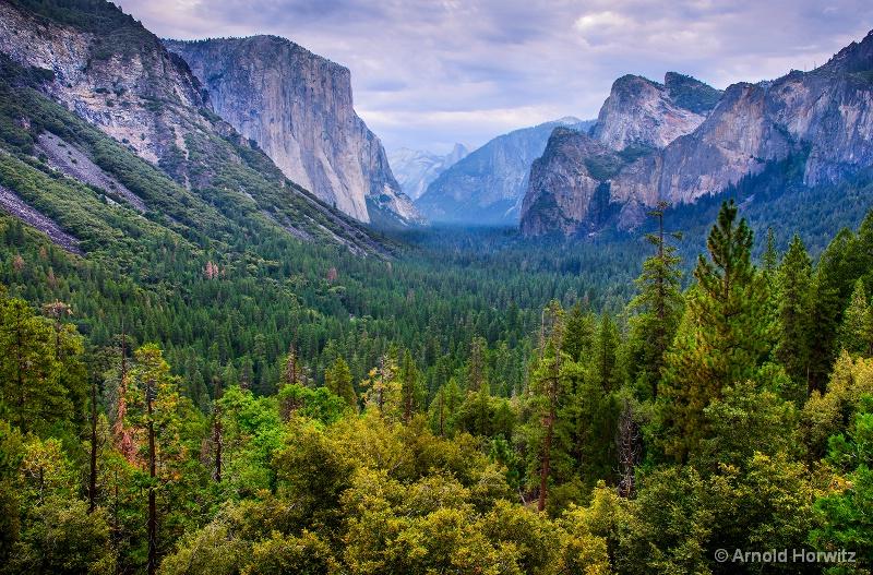 Yosemite Valley - Tunnel View II
