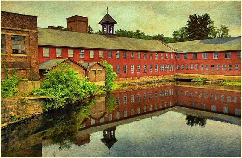 The old axe factory, Collinsville CT