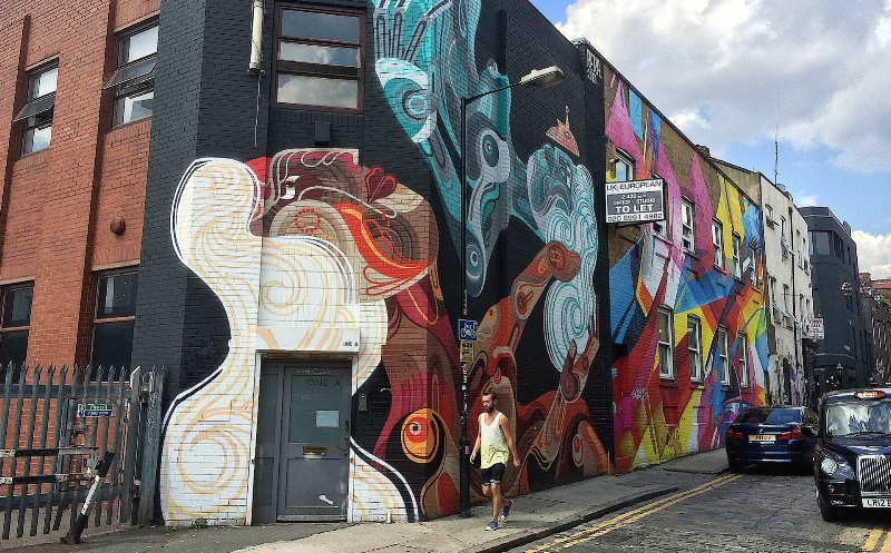 Reka and Mad C in Shoreditch