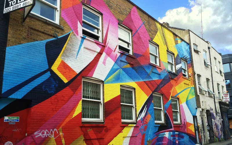 Colourful House by Mad C