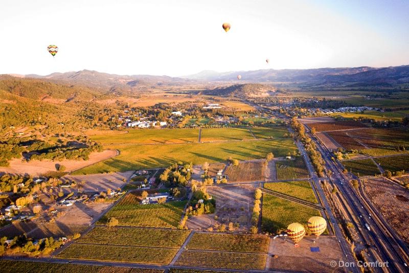 Napa Valley Balloons...2013