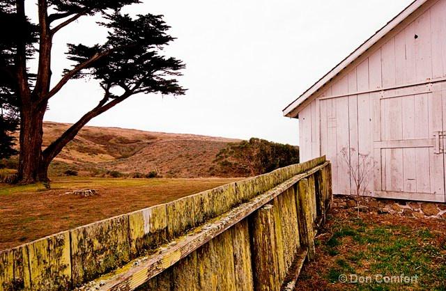 Pierce Ranch, West Marin, Circa 1857