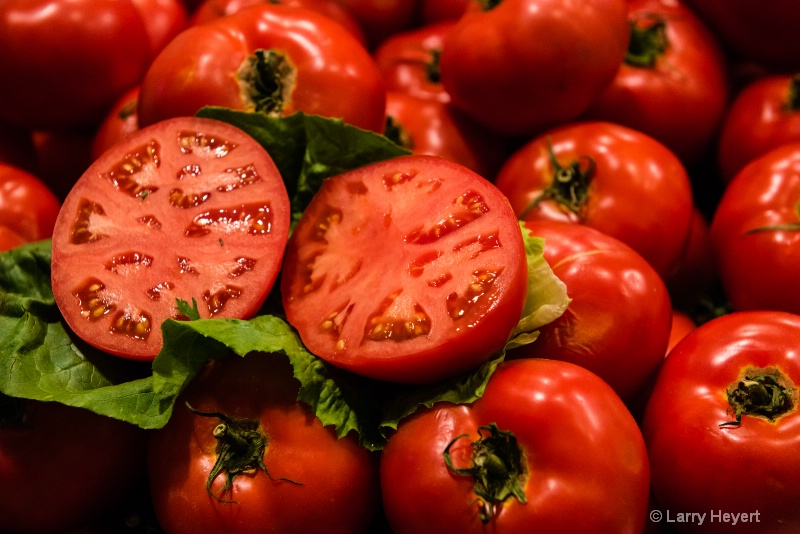 Fresh Tomatoes at Pike Place Market