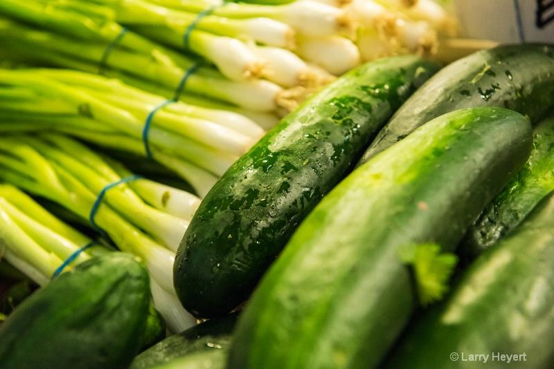 Fresh Veggies at Pike Place Market