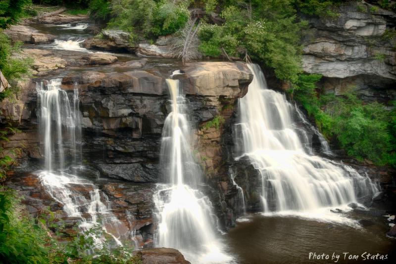 Blackwater Falls, WV  by Thomas Statas