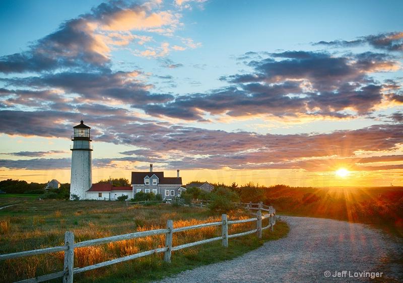 Highland Light Sunset #219