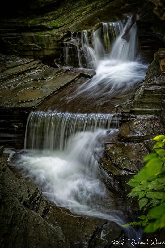 Waterfall at Watkins Glen, NY