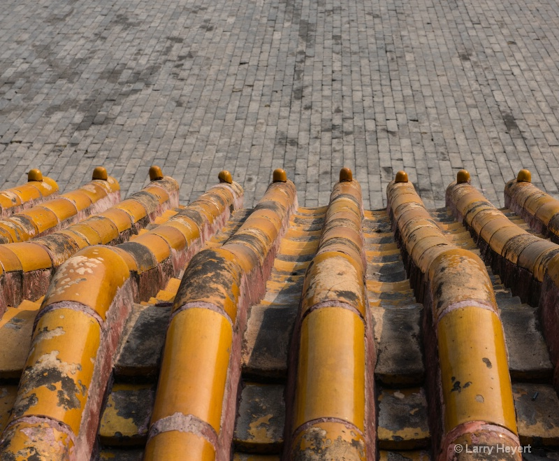 Abstract View from the Forbidden City