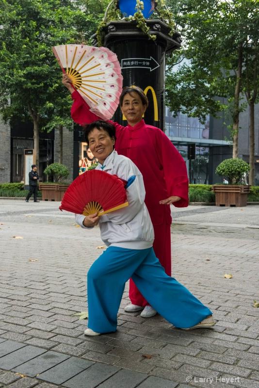 Dancers at West Lake Park