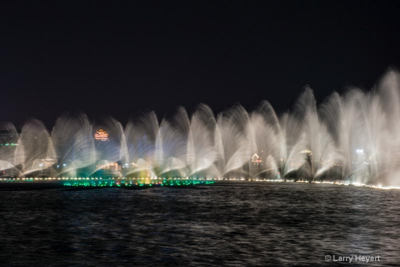 Night Lights at West Lake Park