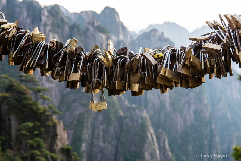 Locks at the Yellow Mountains