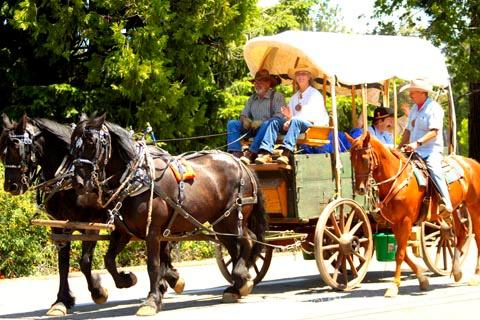 Pony Express Parade