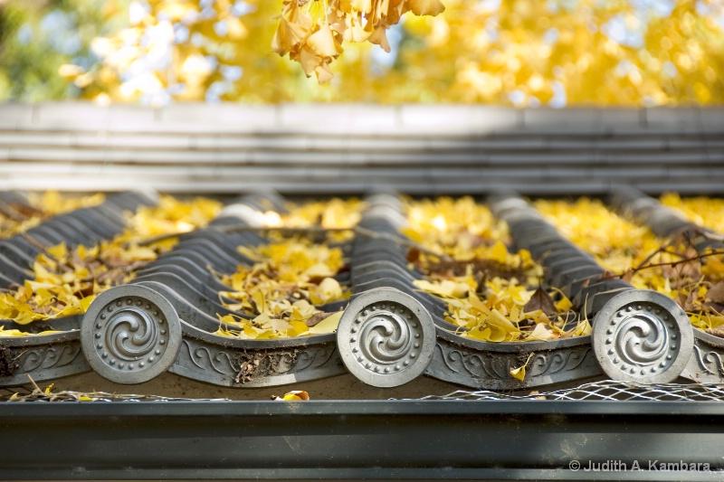shrine roof detail