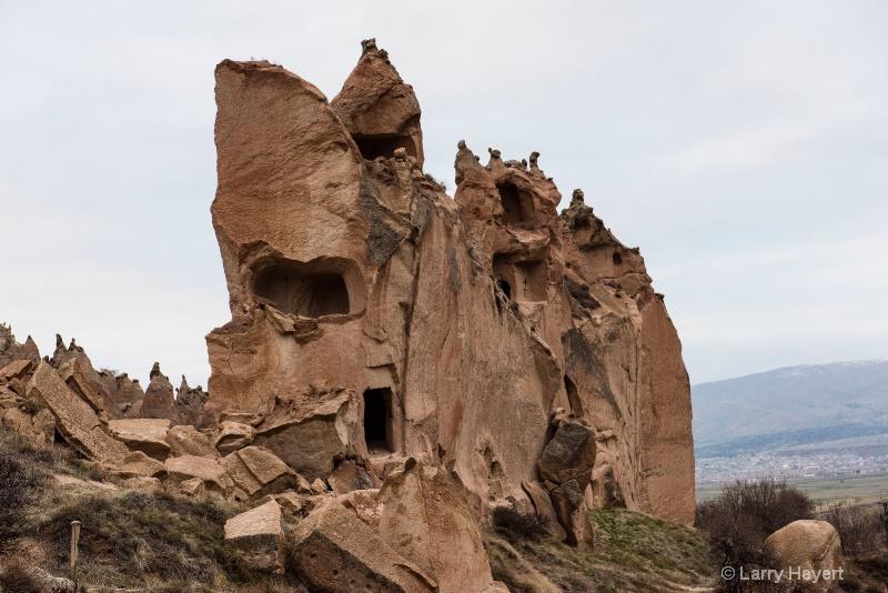Fairy Castle in Cappadocia, Turkey