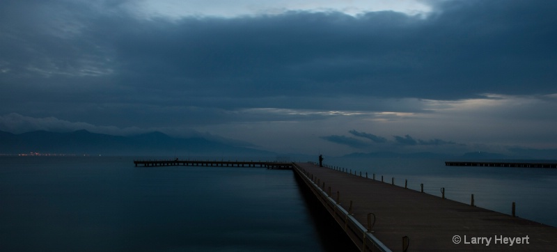 Lonely Evening on the Pier