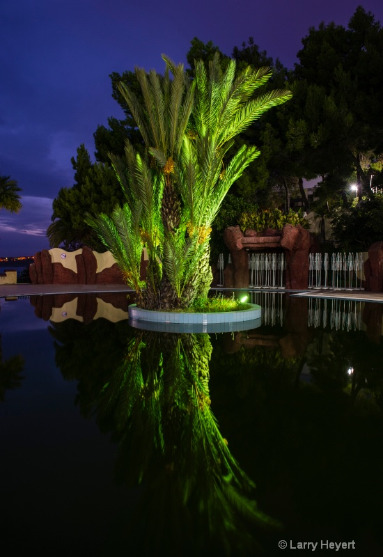 Evening shot- Pool in Canakkale, Turkey