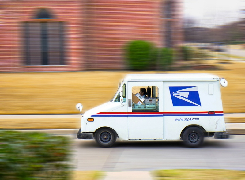 - Hauling The Mail -