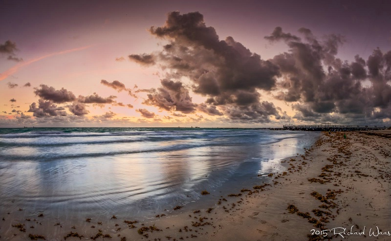 Sunrise on South Beach II
