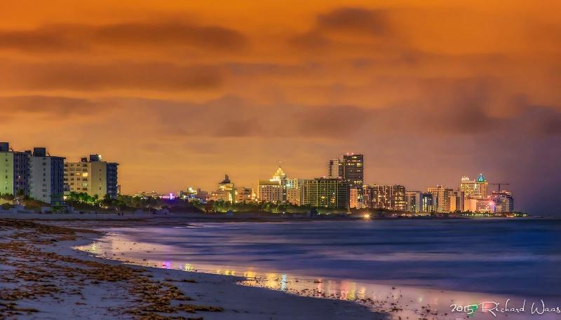 Before Sunrise on Miami Beach
