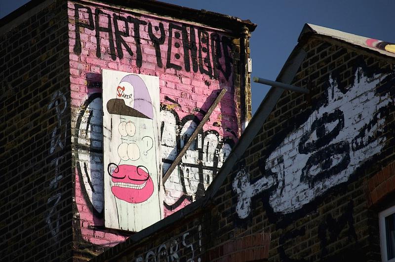 Party Time Graffiti