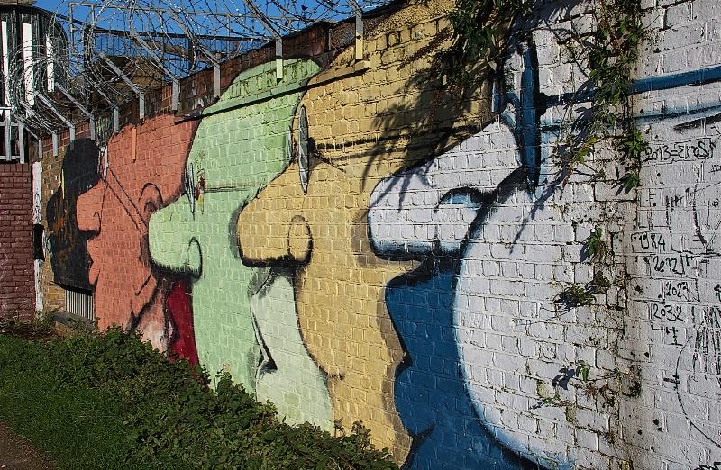 Hackney with Graffiti by Run