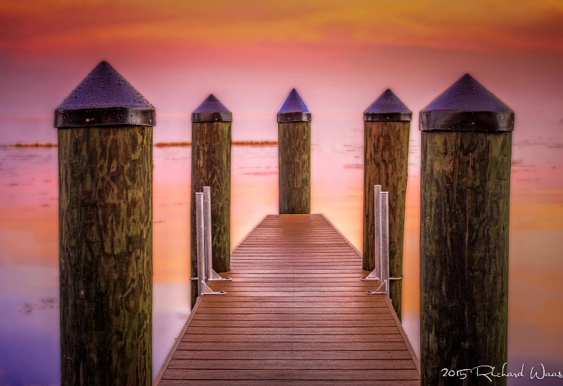 """""""Sunset at the Dock"""""""