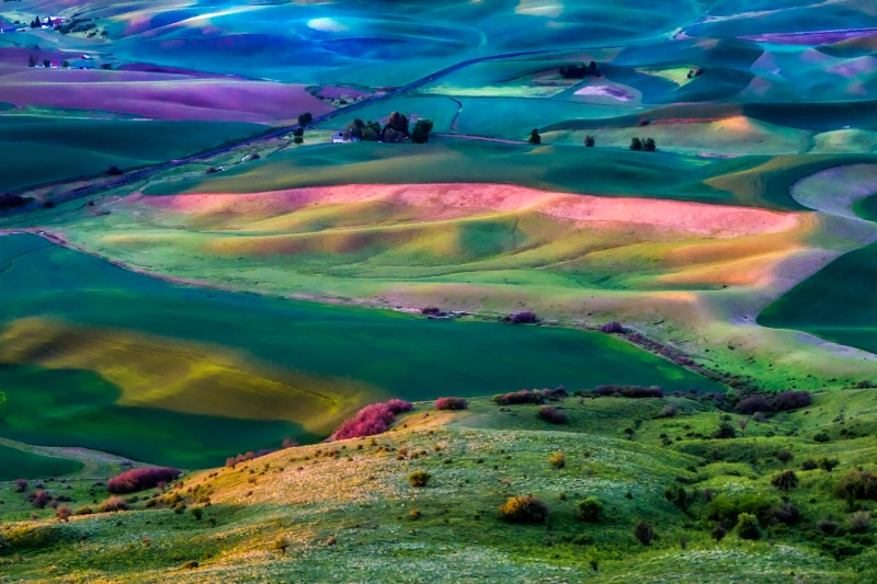 Mother Nature Paints With Light  5588