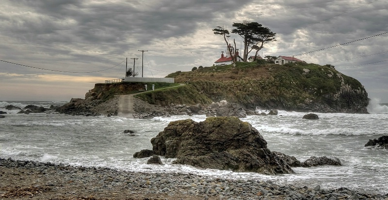 Storm at Battery Point