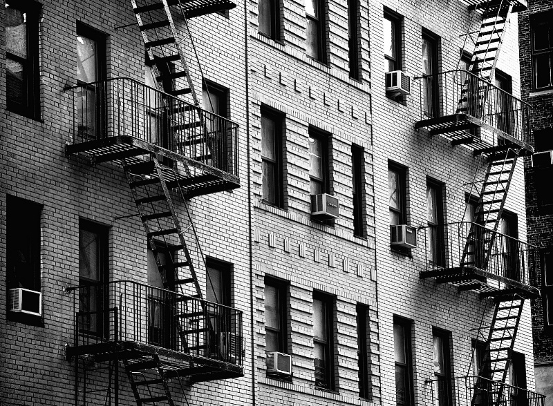 Symmetrical Staircases in NY