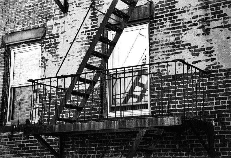 Tenement Stair in Soho