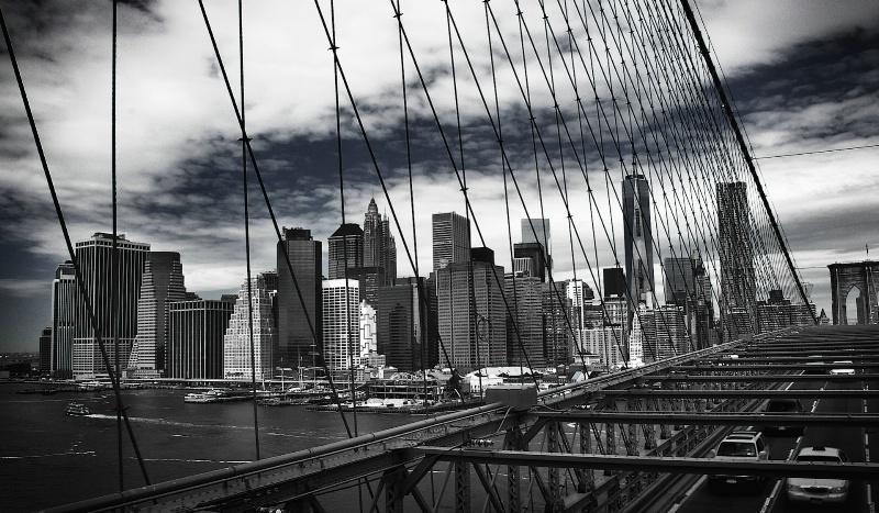 Steel Mesh and Manhattan