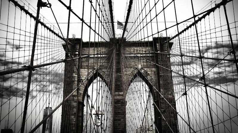 Majestic Brooklyn Bridge