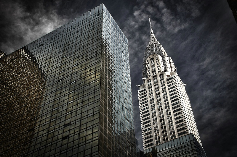 Iconic Chrysler Building in Manhattan