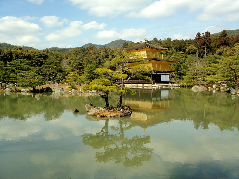 Golden Pavillion in Kyoto