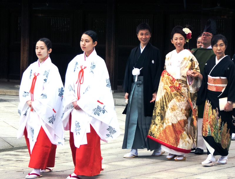 Shinto Wedding at the Meiji Shrine