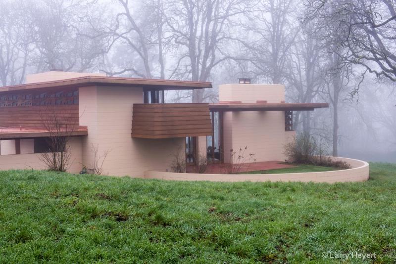 Frank Lloyd Wright house in Silverton, Oregon