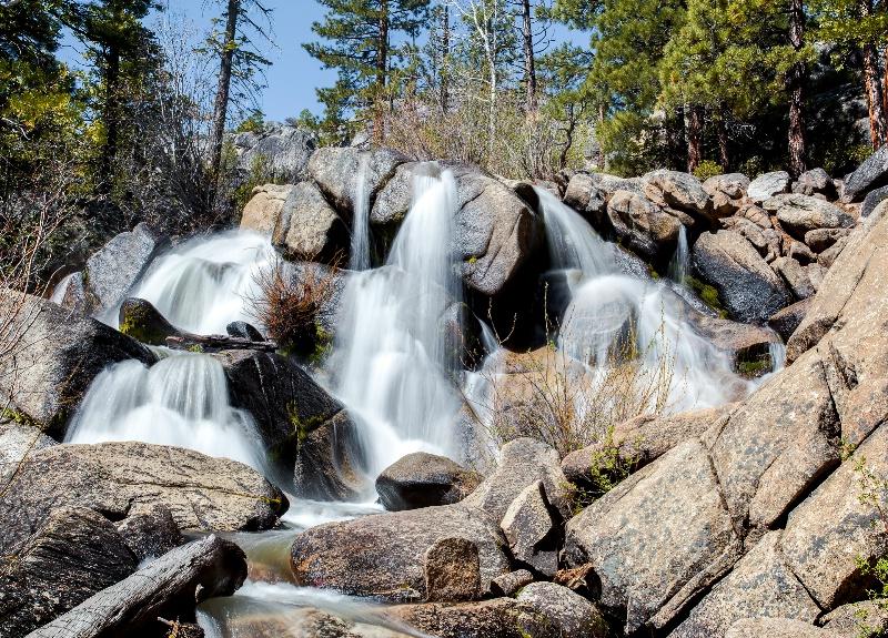Hot Springs Creek Waterfall