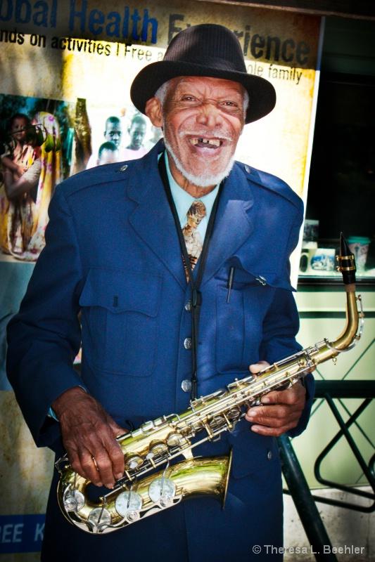 Seattle Sax Street Musician