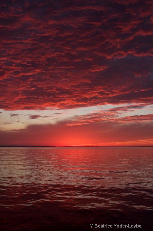 Leech Lake MN Sunset 2011
