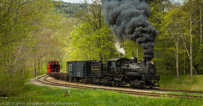 Freight At Old Spruce