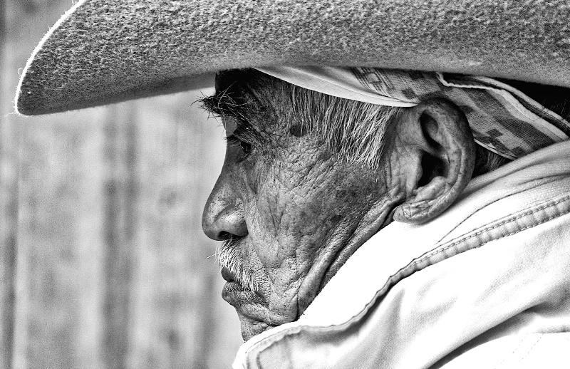 Mexican with his Hat