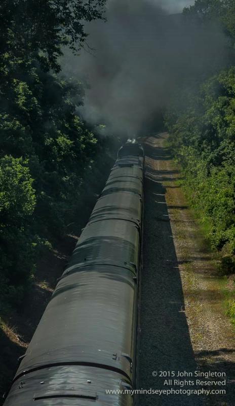 N & W 611 Returns Home Excursion Train #1