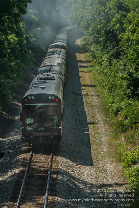 N & W 611 Returns Home Excursion Train #2