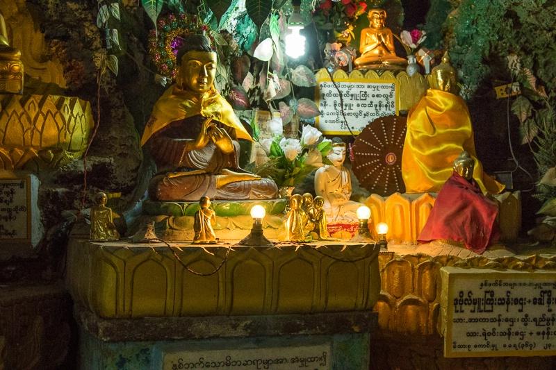 Limestone cave Pagoda - Shwe U Min