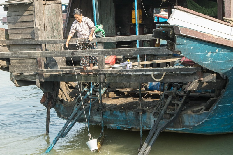 Life on the Irrawaddy River